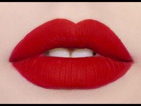 Kusursuz Kırmızı Ruj Nasıl Sürülür (How To Apply Red Lipstick? ) - YouTube
