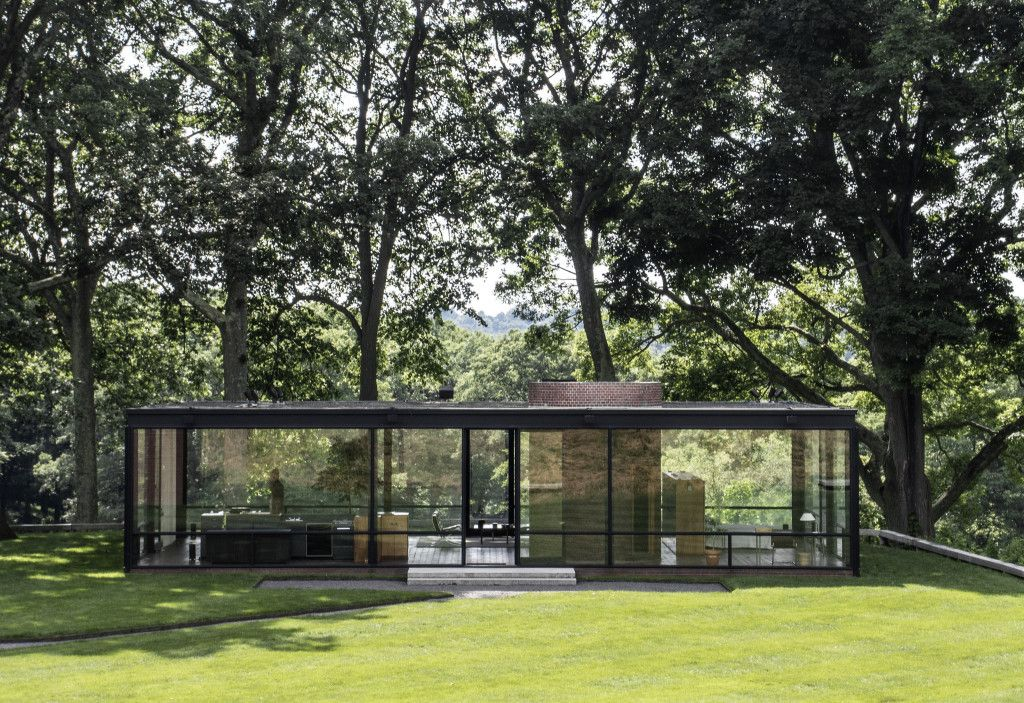 Johnson Glass House / Stamford-Connecticut / United States | Architect: Philip Johnson