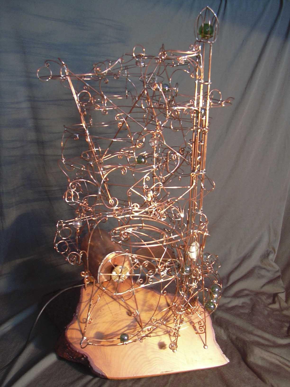 Draht-Art von Ernst Heye | Rolling Ball Sculpture | Pinterest ...