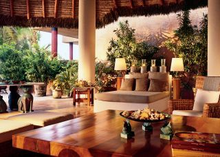 Exotic Living Room By Marco Aldaco And Marco Aldaco In Acapulco, Mexico