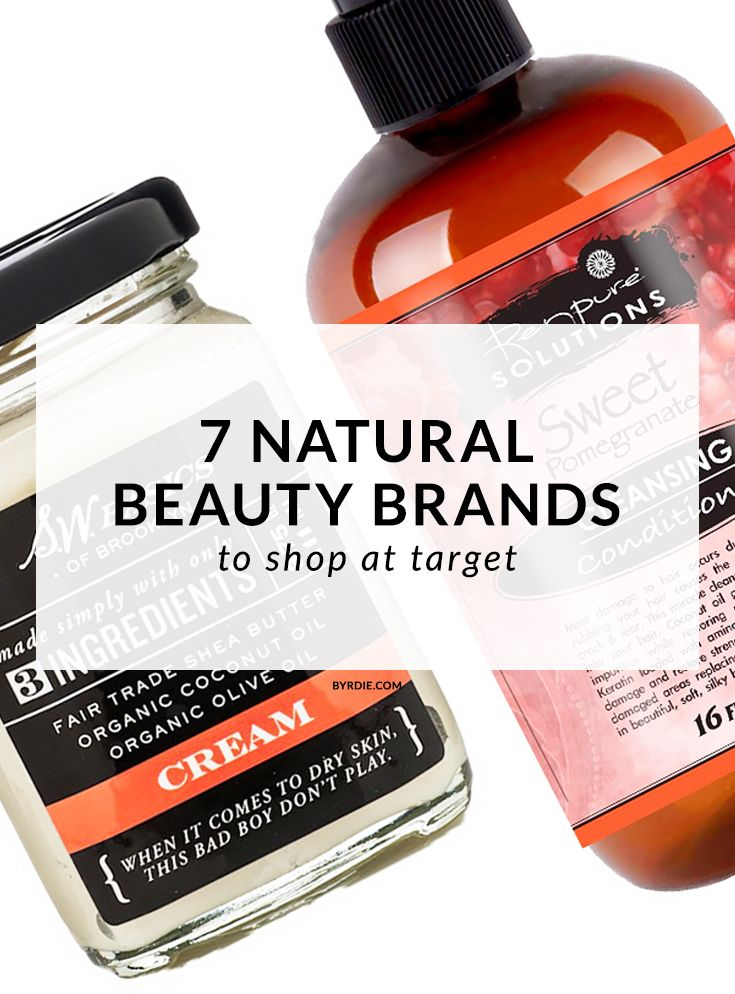 7 awesome natural beauty brands you can now buy at Target