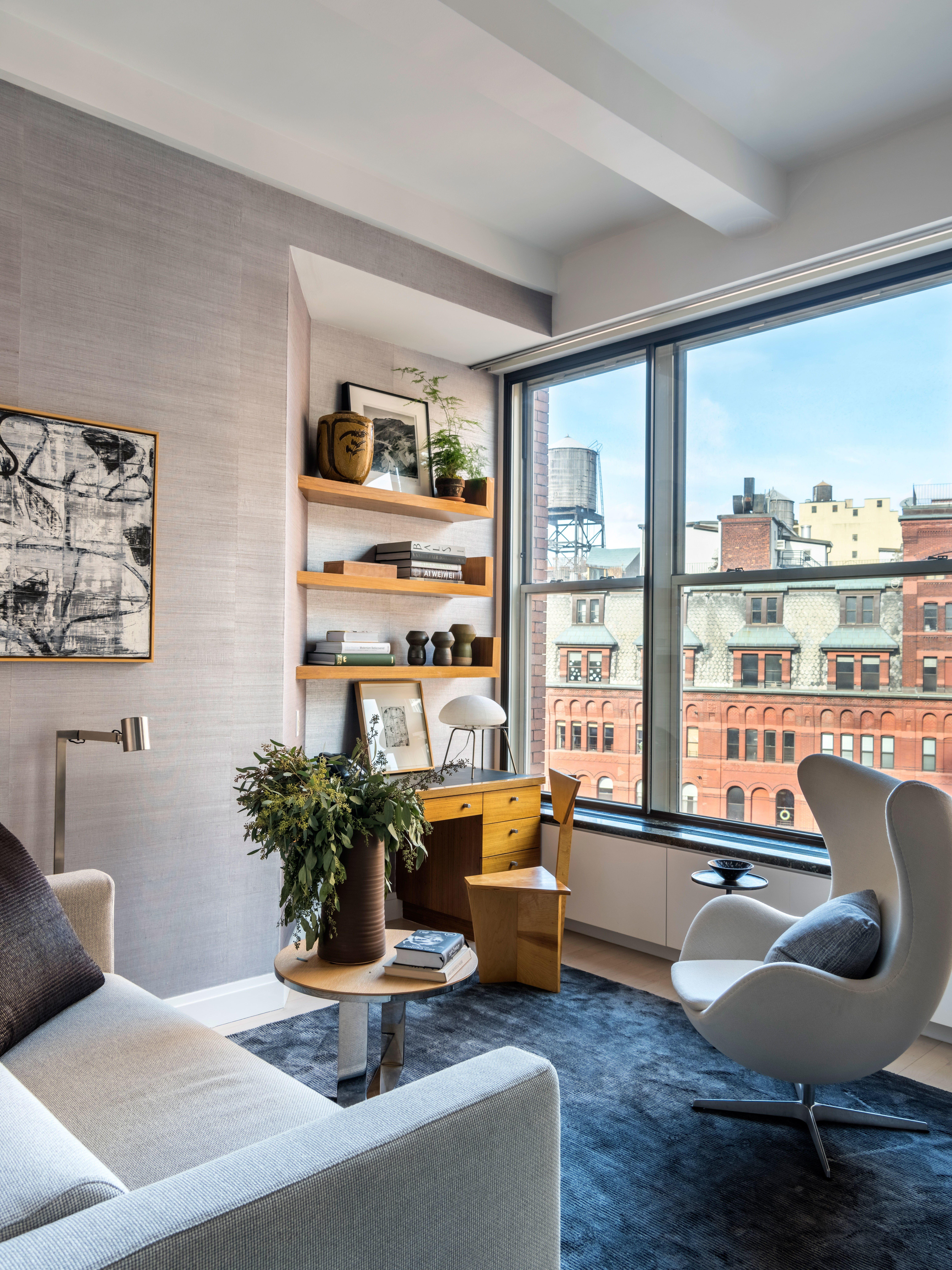 A Hollywood Power Couple s Tailored New York Apartment