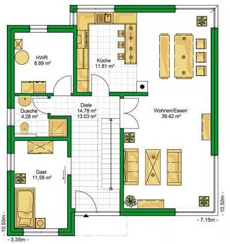 Plano de casa moderna - Planos de casas minimalistas ...