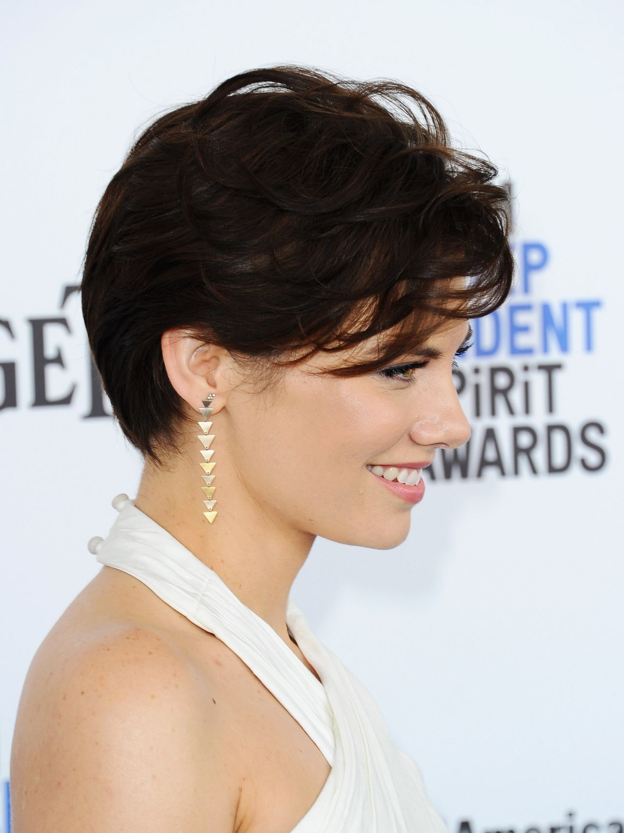 Lauren Cohan Lauren Cohan Short Hair Styles Hair Beauty