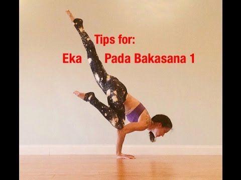 quick tips for flying crow eka pada bakasana  youtube