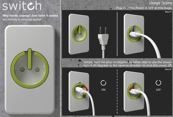 Power Outlet Ideas Design Milk Eco Design Plugs