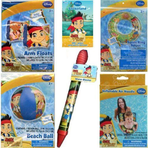 1c9411364ea4 Disney Jr. Jake and the Neverland Pirates Pool Toys Set for Kids - Jake and