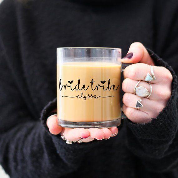 Bride Tribe Mugs Bridesmaid Gift Bridesmaid Mug Maid Of