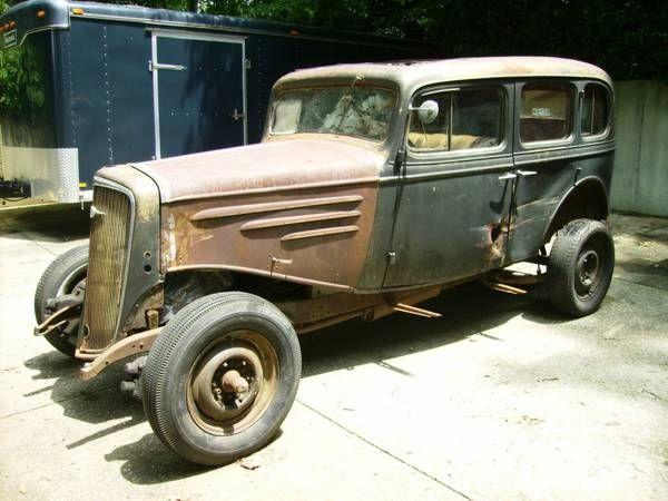 1934 Chevrolet Master California Car | Chevrolet, Rat rod ...