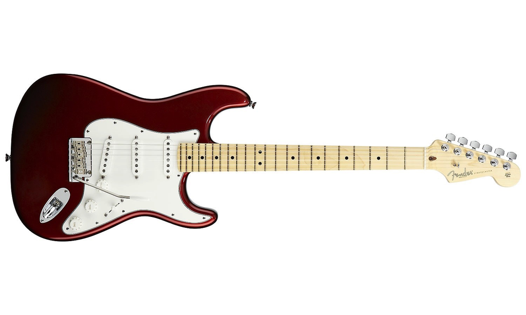 Fender American Standard Stratocaster Maple Fingerboard Candy Cola Red W Case American Standard Stratocaster Fender American Standard Fender Stratocaster