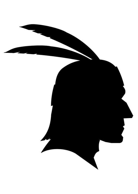 Malvorlage Indianer Bilder Für Schule Und Unterricht Indianer