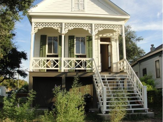 The Galveston Historical Foundation Green Revival House