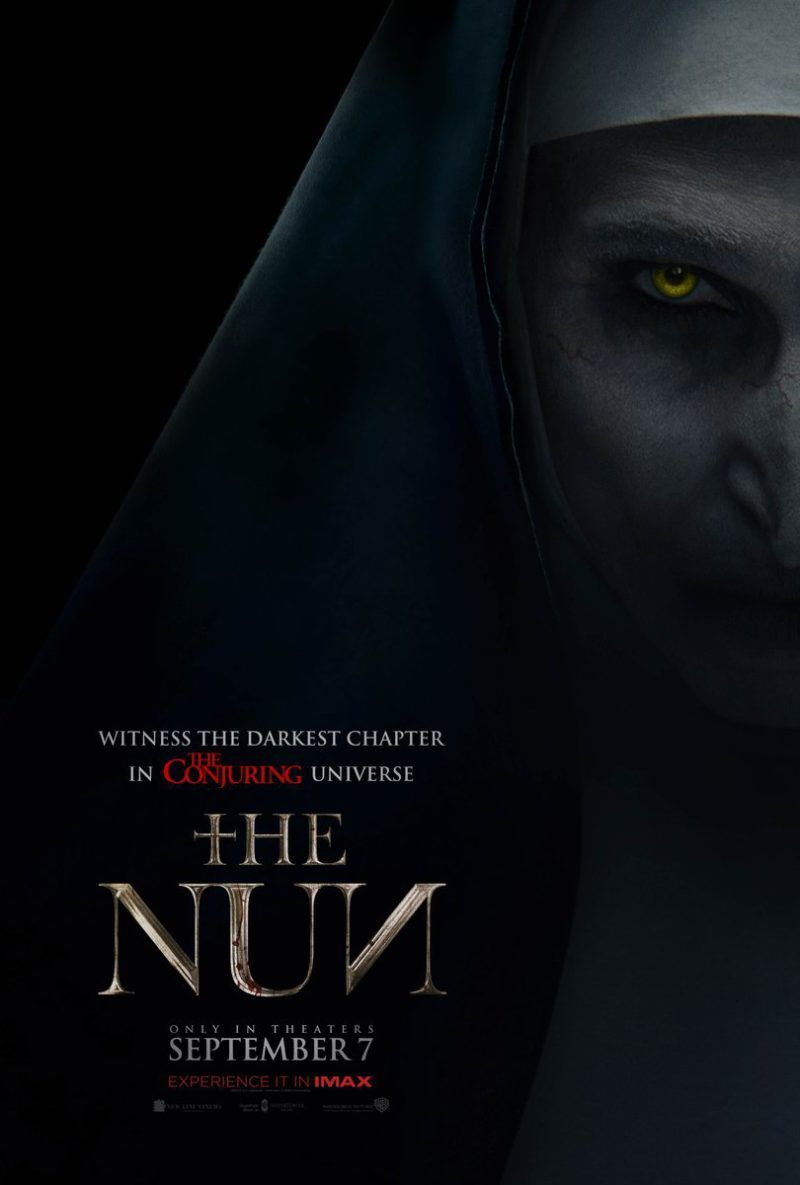 Creepy New Poster Emerges For Corin Hardy S The Nun Nightmare On Film Street Full Movies Free Movies Online Full Movies Online