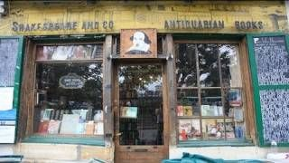 Shakespeare and Company - Iconic Bookshop in Paris, via YouTube.