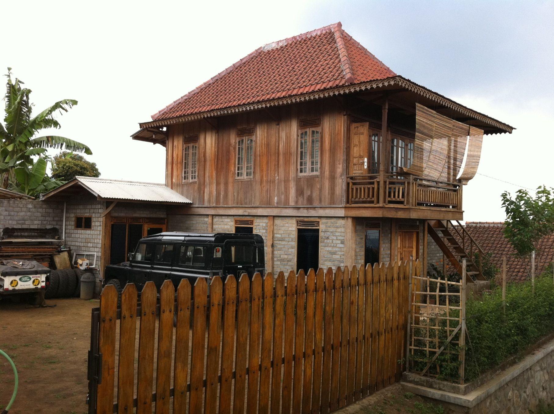 Rumah Kayu Sederhana Natural & Rumah Kayu Sederhana Natural | HOME | Pinterest | Natural