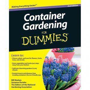 Container Gardening For Dummies Gardeningforbeginners 400 x 300