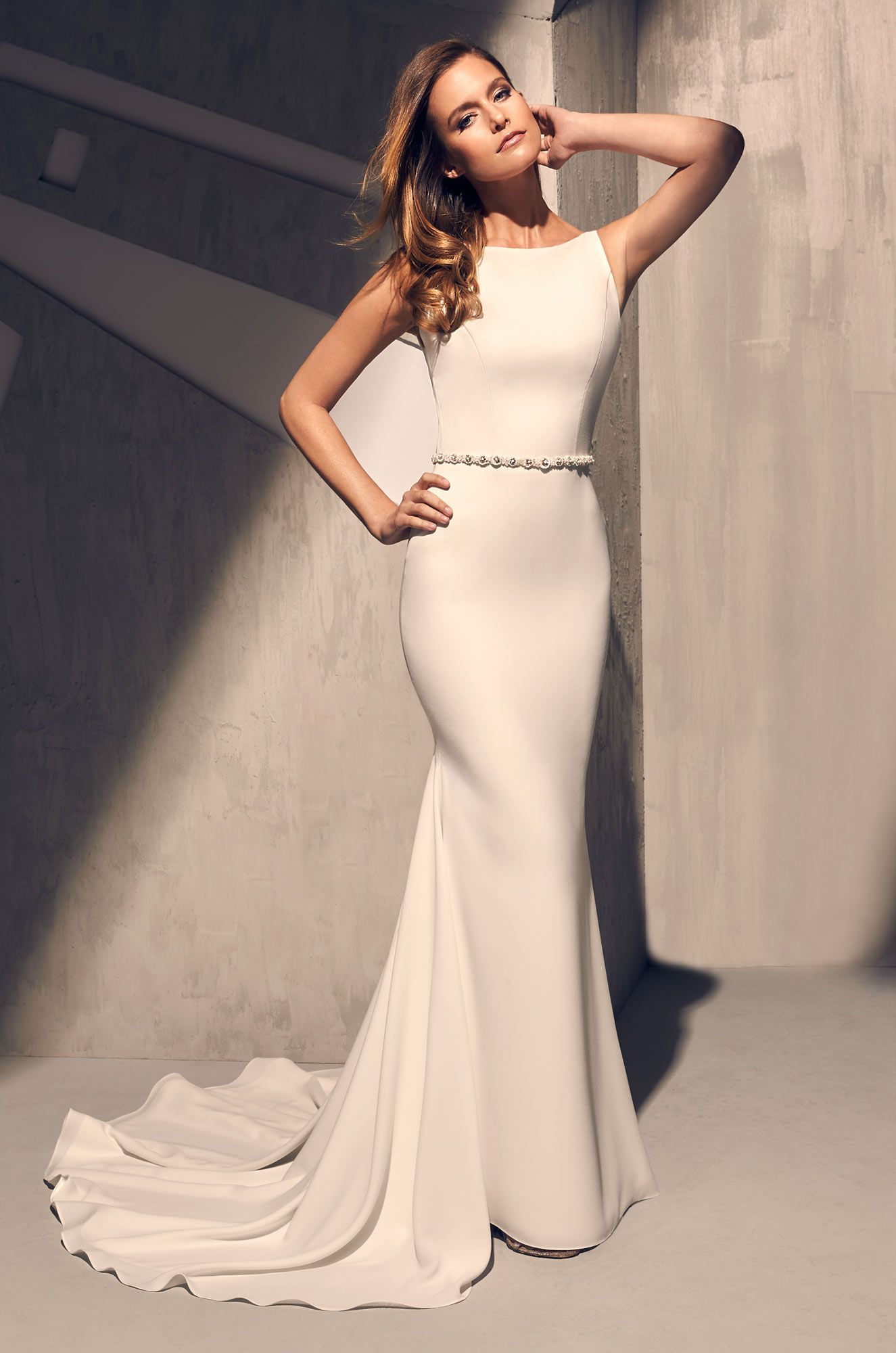 Elegant Flared Wedding Dress Style 2200 In 2019 The Dress