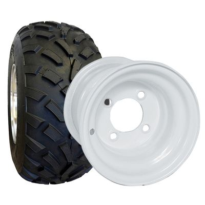 Golf Cart Tire Wheel Assembly 8 All Terrain Tires Wheels For