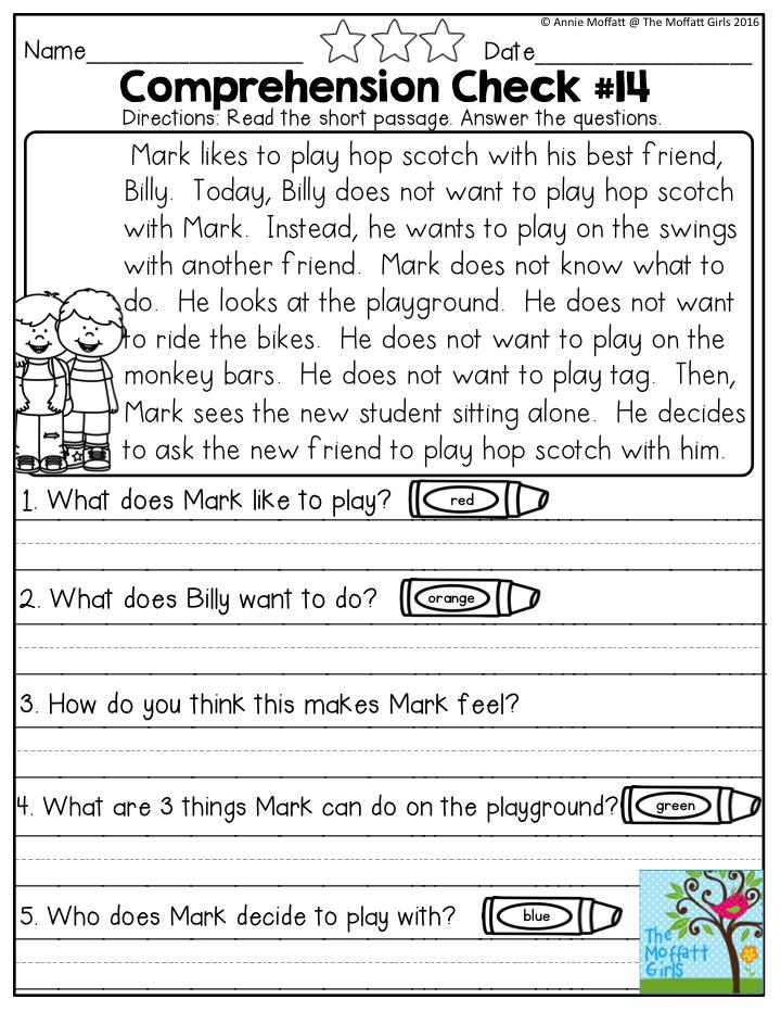 Comprehension essay