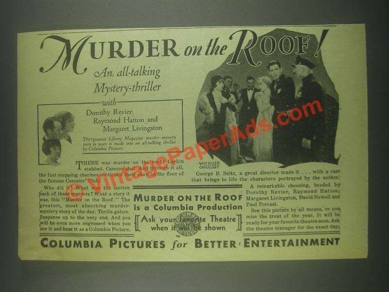 Download Murder on the Roof Full-Movie Free