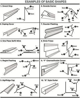 10 6 Aluminum Steel Metal Trim Siding Brake 26g Steel Stand Slitter Included Ebay Siding Trim Sheet Metal Fabrication Sheet Metal Bender