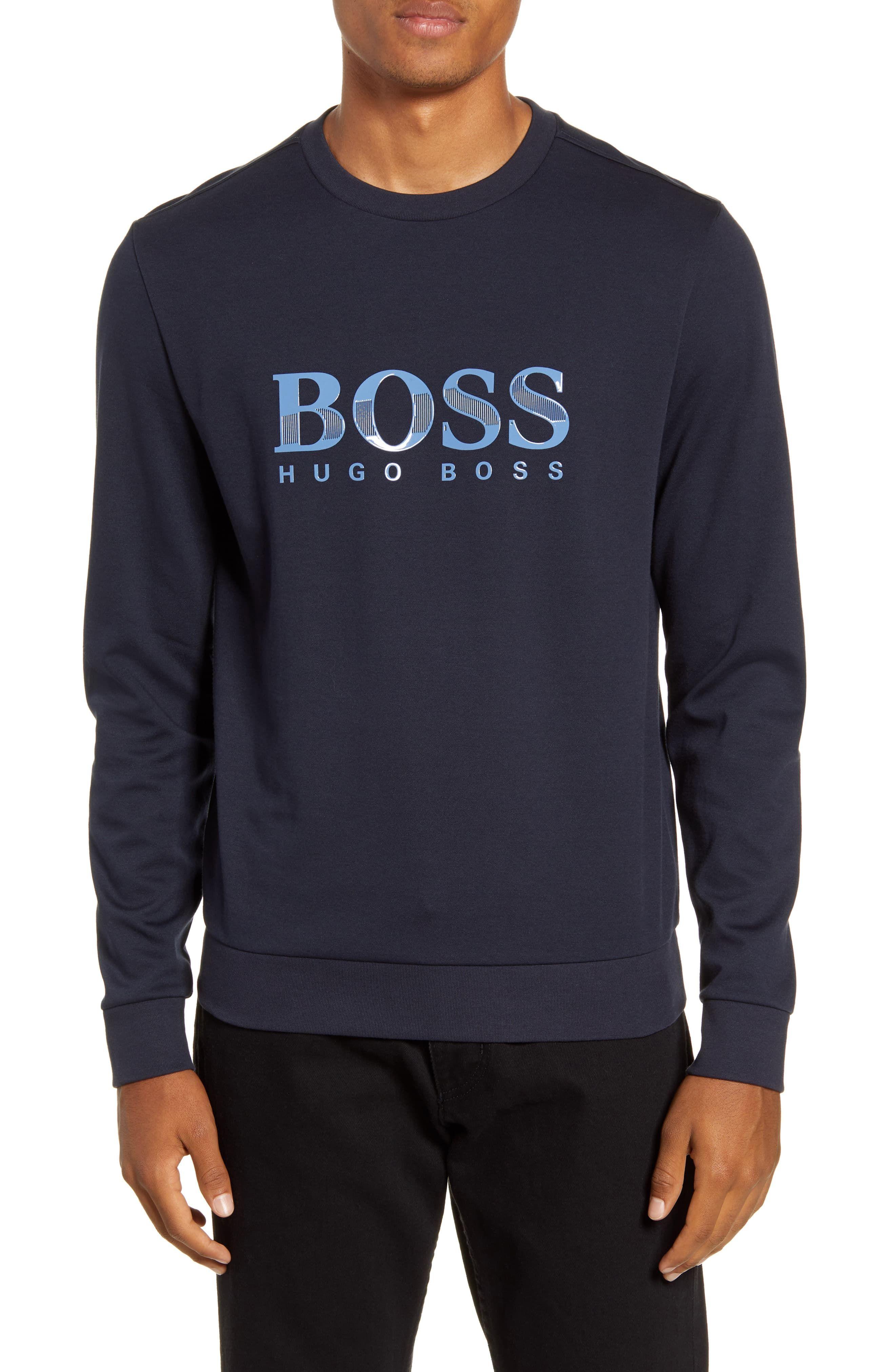 Hugo Boss Polo Men/'s Crew Neck Long Sleeve T-Shirt New All sizes