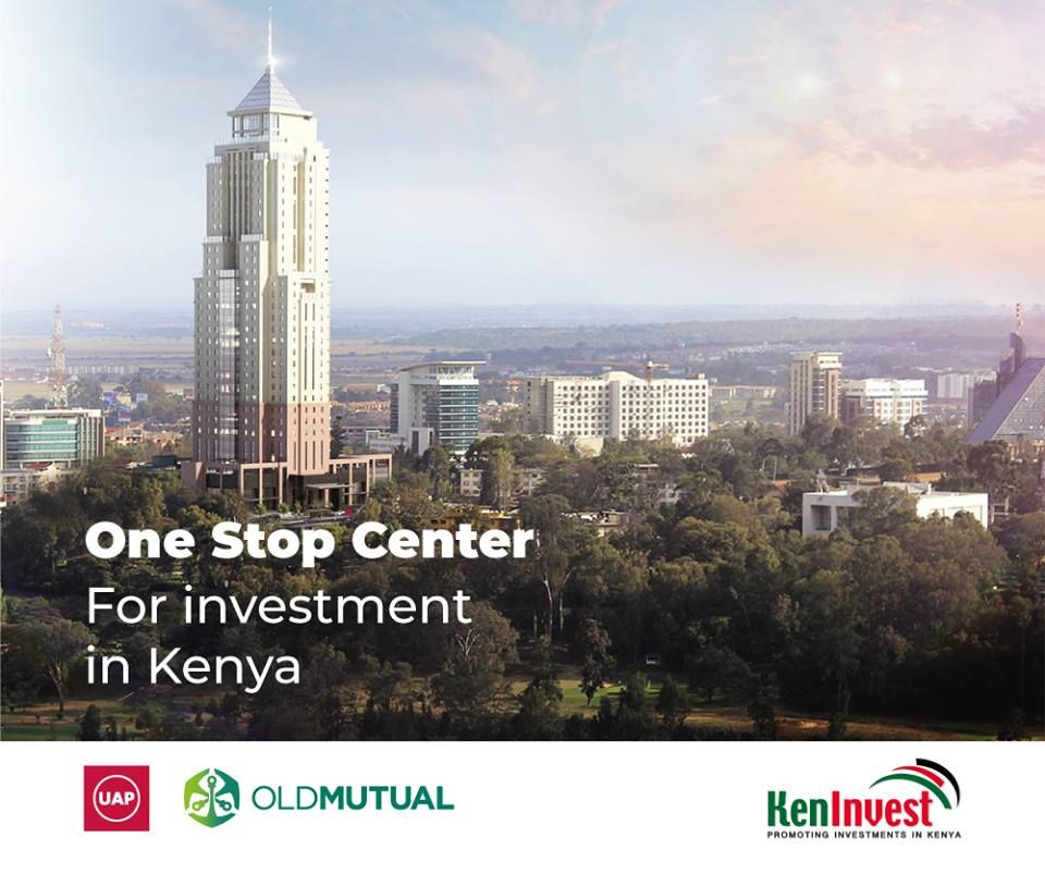 The Uap Old Mutual Tower Is The Home To Kenya Investment Authority Who S Mandate Is To Promote And Facilitate