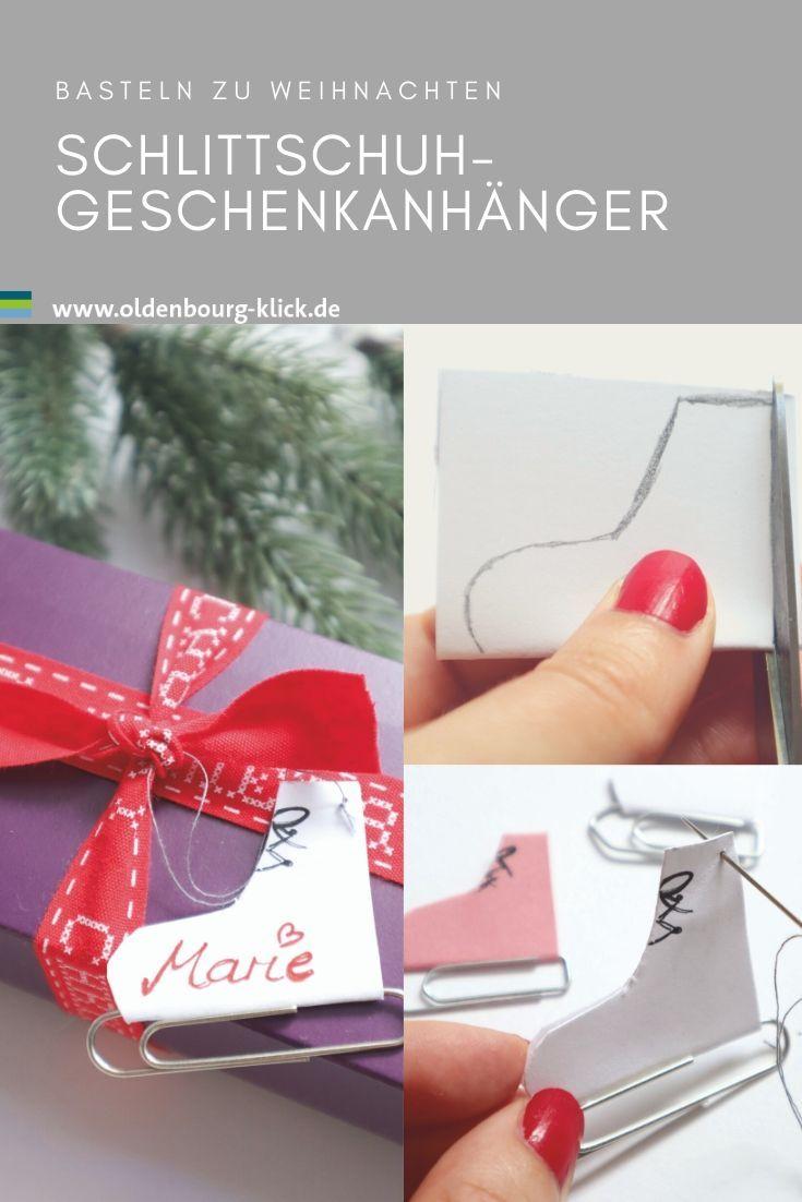 DIY: Geschenkanhänger für Weihnachten selber basteln