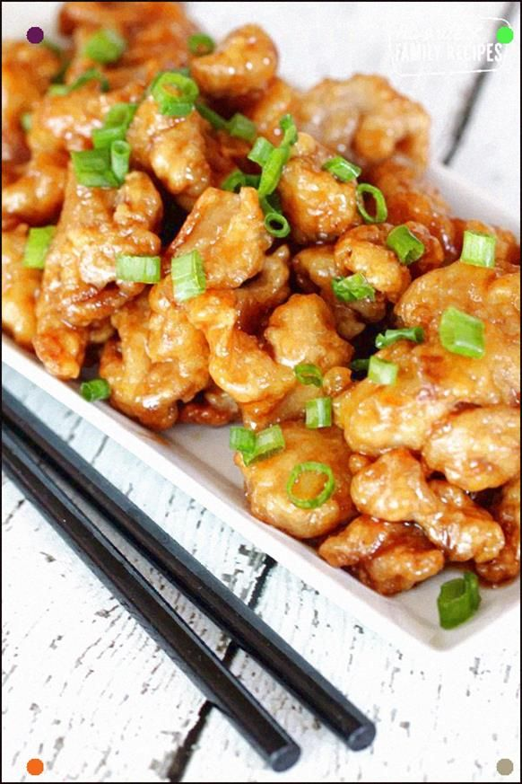 This Orange Chicken Recipe Tastes Just Like The Popular Panda Express Dish, But Made With Simple Ingredients Right At Home Tender Chicken In Tangy Sauce Beats Restaurant Take-Out Any Day #Orangechicken #Chineseorangechicken #Orangechickenrecipe #Favoritefamilyrecipes #Copycatorangechicken #Orangechickensauce #chineseorangechicken