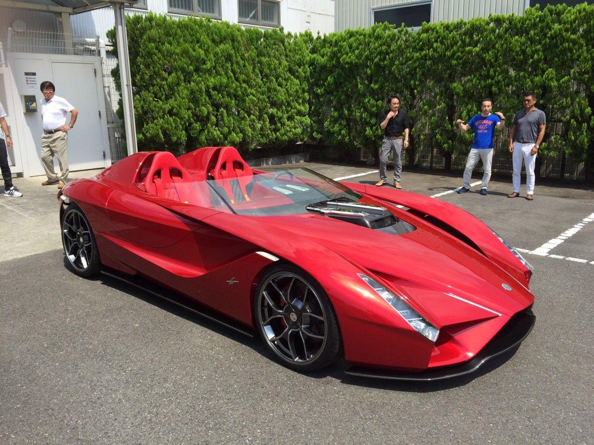 Enzo Ferrari Designer Stuns Monterey With Breathtaking Kode 57 ...