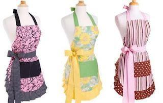 6461d9f8535 Delantales bonitos y originales | costura | Delantales, Delantales ...