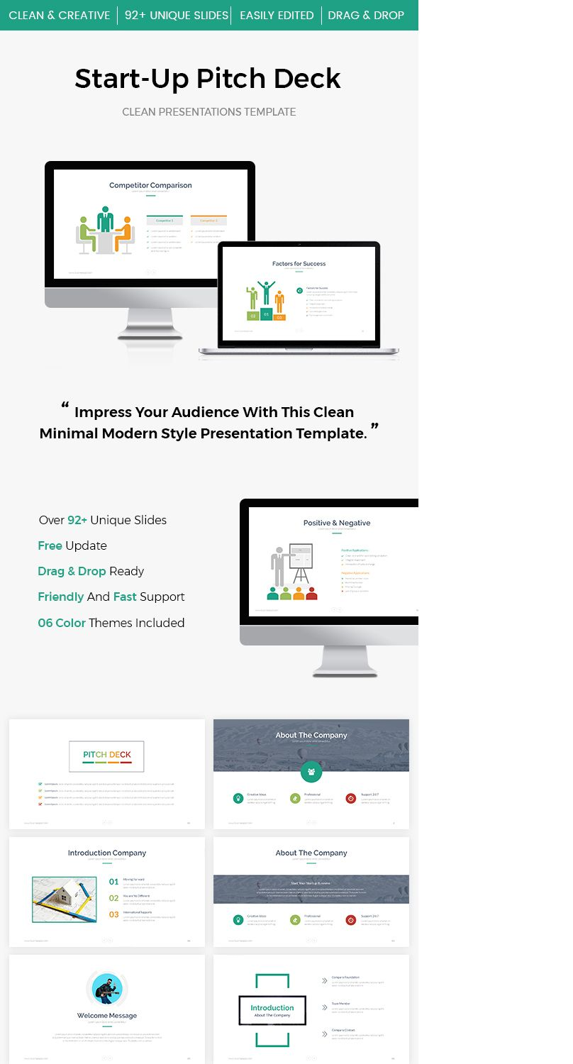 Check Out My Behance Project StartUp Pitch Deck Google Slide