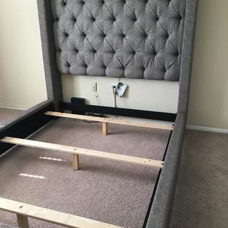 Best Sorinella Queen Upholstered Bed Upholstered Beds Queen 640 x 480