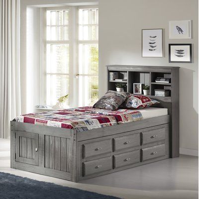 Harriet Bee Greg Twin Mate S Captain S Bed With 6 Drawers