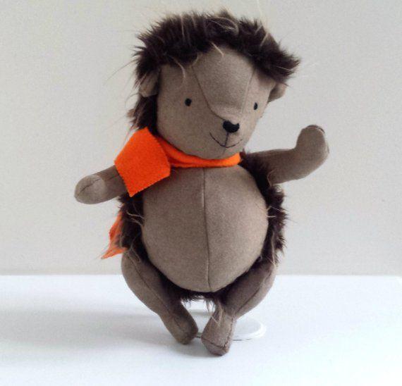 Handmade Hedgehog Plushie, Hedgehog Doll named Eckhart | nähen ...