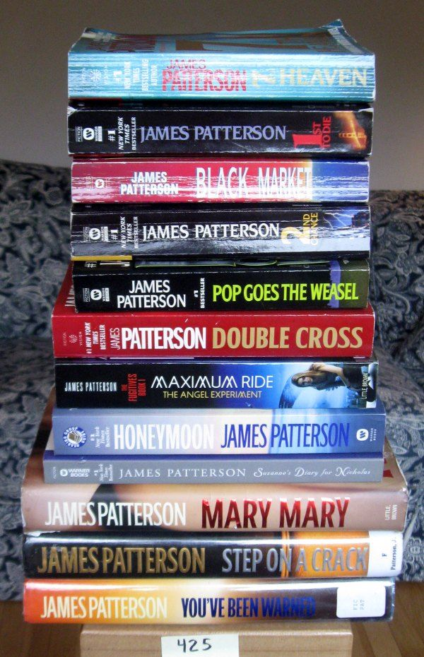 James Patterson Anything......