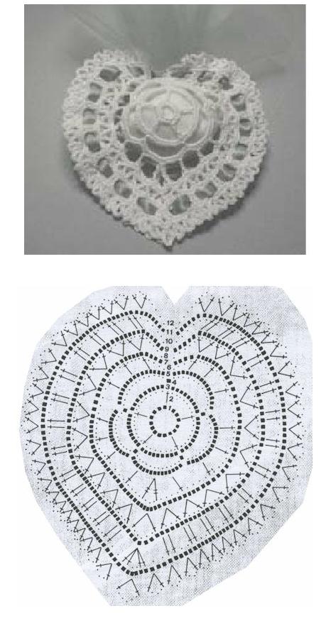 Patrones Crochet Corazones San Valentin - Patrones Crochet | corazon ...