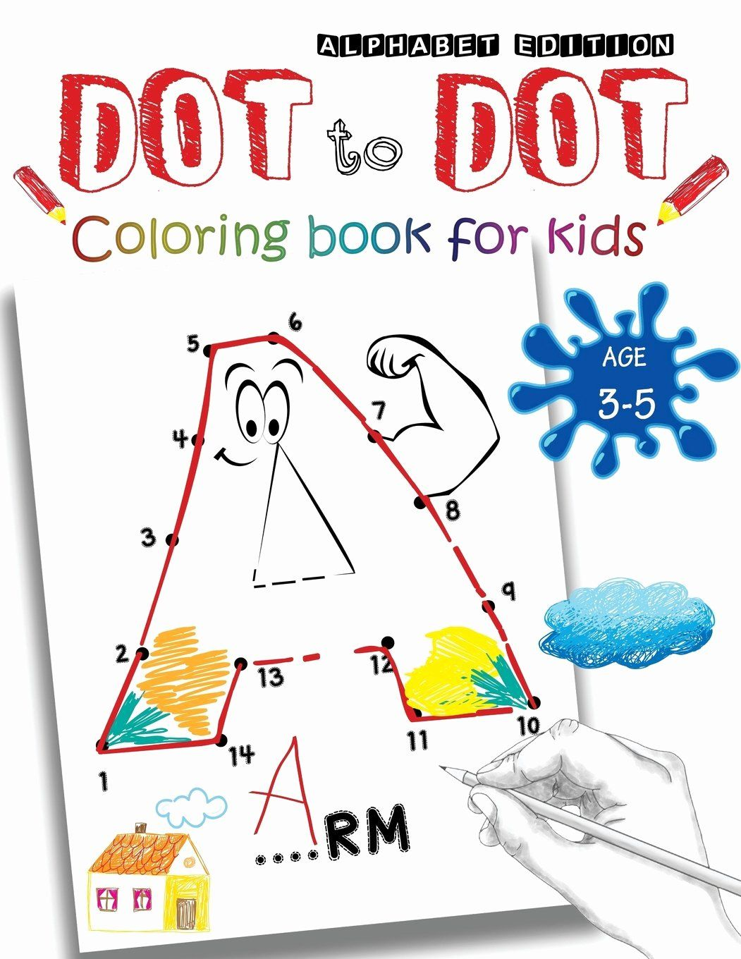 Funny Drawing Book Adultactivity Book Fresh Dot To Dot