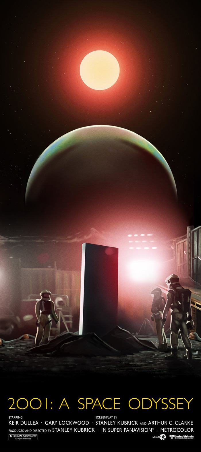 2001 A Space Odyssey by Dave O'Flanagan Home of the