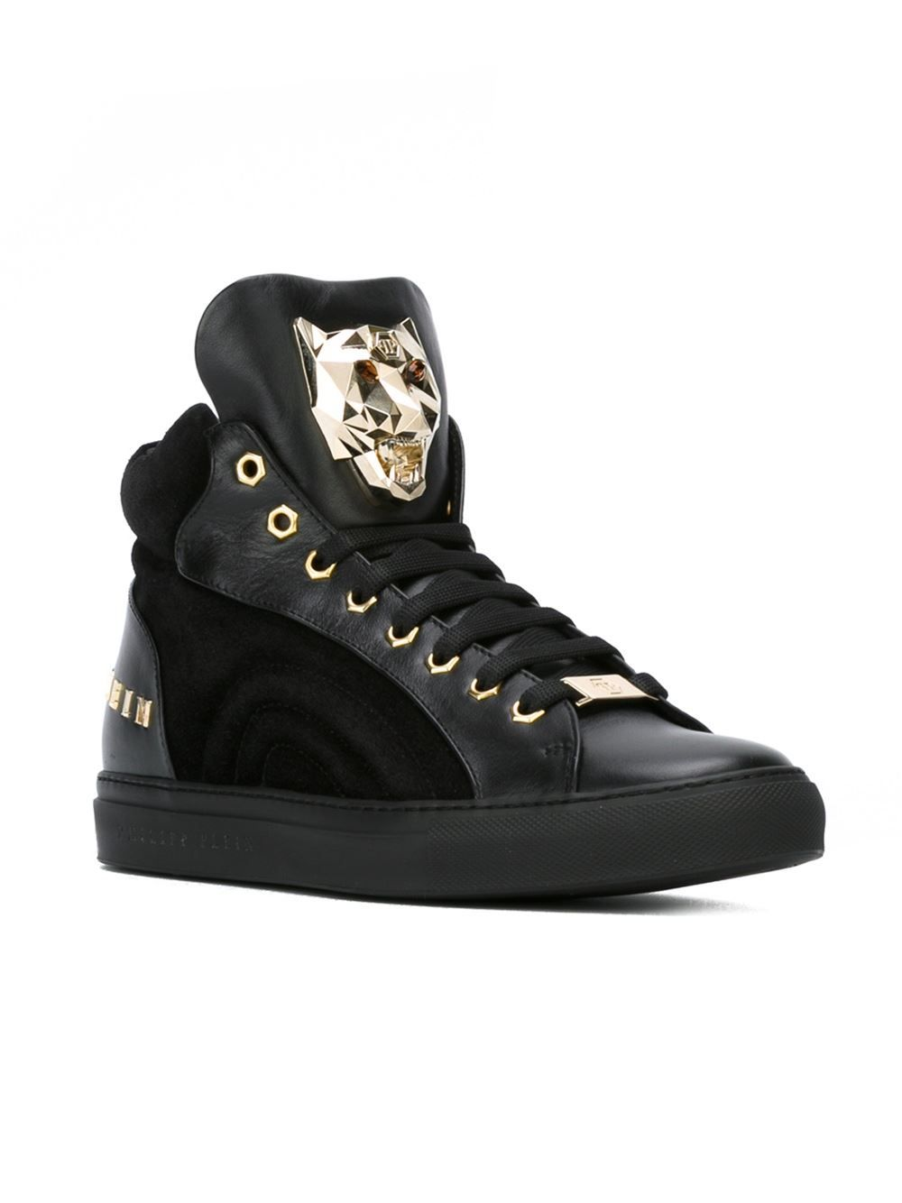 d82e5dcc53e6 Philipp Plein  on  High-top-sneakers - O  - Farfetch.com   MEN S ...