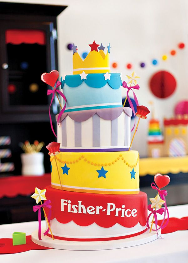 Toy Inspired Royal First Birthday Bash For Fisher Price Birthday