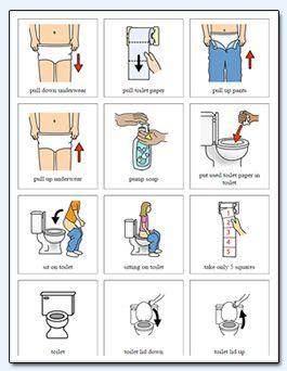Toileting Page 2 Autism Pinterest Autism Visual