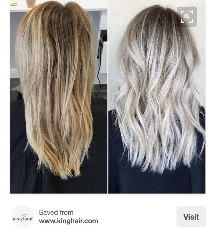 Painted Roots Blonde Hair Styles Roots Hair Long Hair Styles