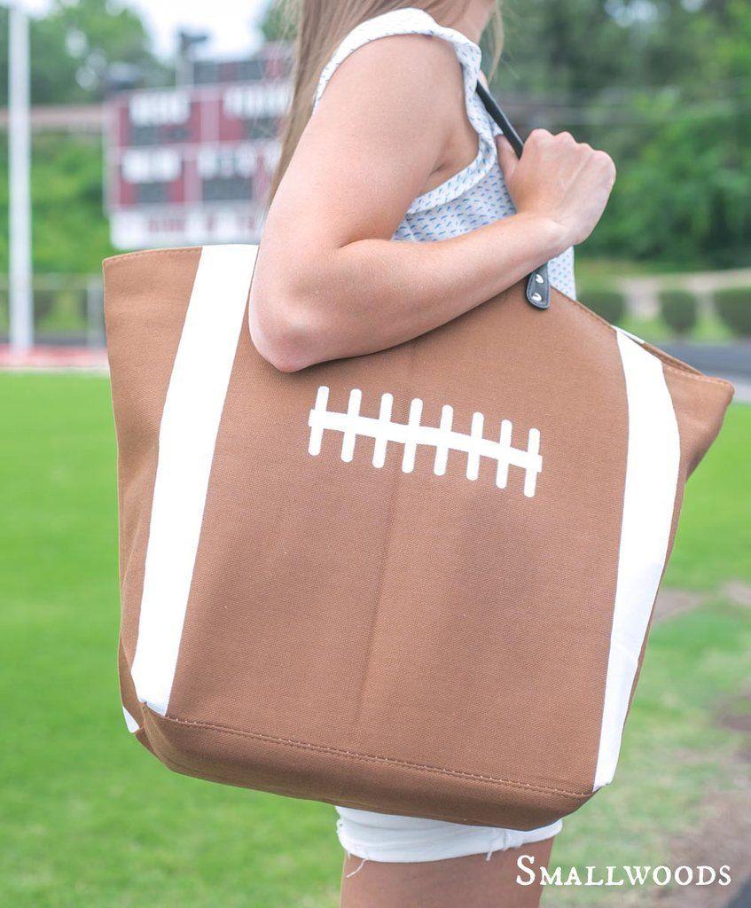 FOOTBALL MOM TOTE. With Number. Football Mom Bag. Football Team ...