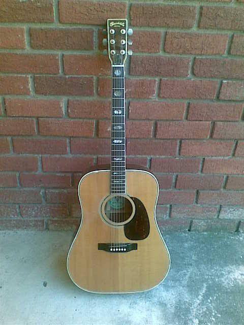 Kiso Suzuki Acoustic Guitars W500 Front Guitar Kiso Acoustic Guitar
