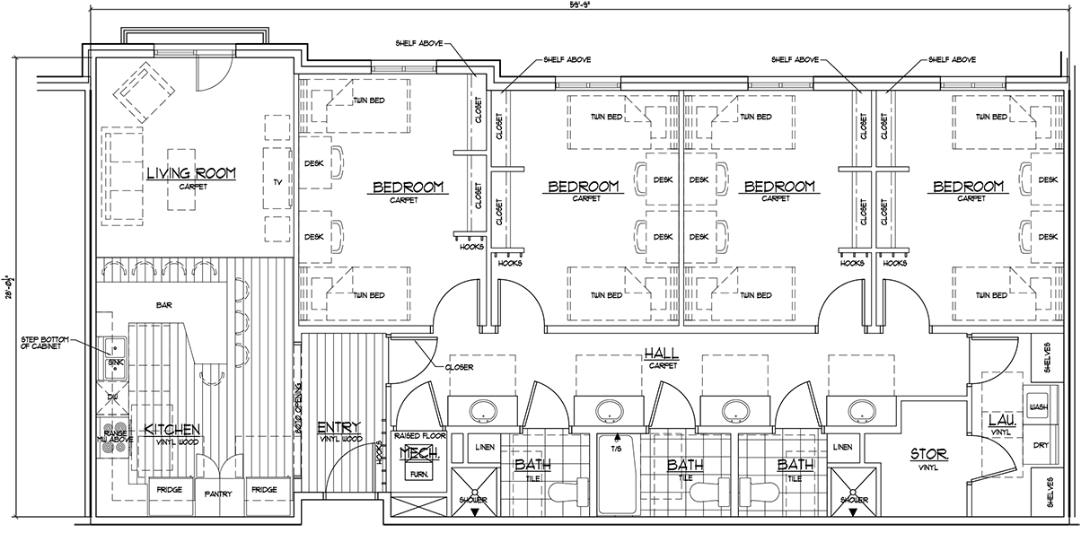 Floorplans and Pricing - NorthPoint Apartments in Rexburg ...