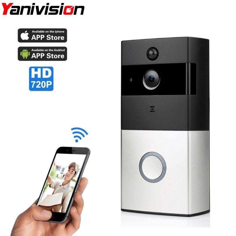 TIVDIO Smart Home Doorbell Wi-Fi Enabled Video Doorbell Video IR Vision Night DE