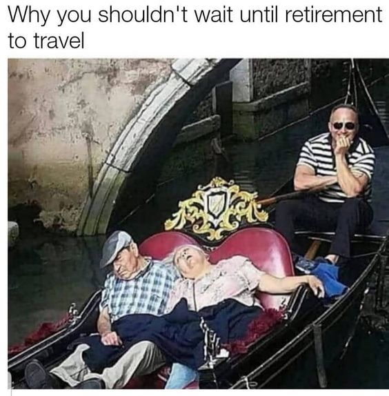 You know he is right! But I bet it was the best nap they ever had!!!  pinchesofwisdom.com #retirement #love #repost #pictureoftheday #bestdayever #sex #humor #funny #liveyourbestlife #pinchesofwisdom