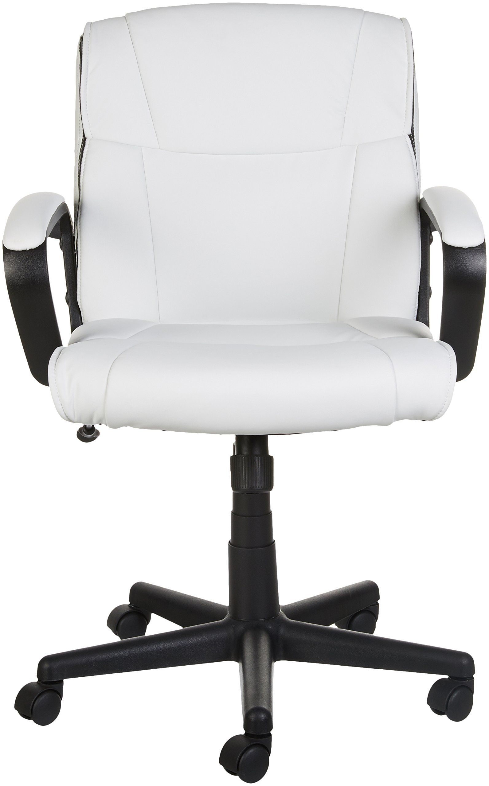 AmazonBasics MidBack Office Chair White >>> Details can be