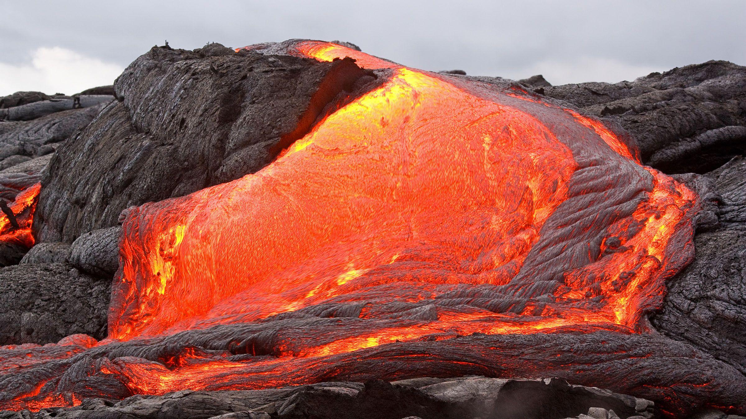 la temperatura de la lava volc nica volcanes y fen menos